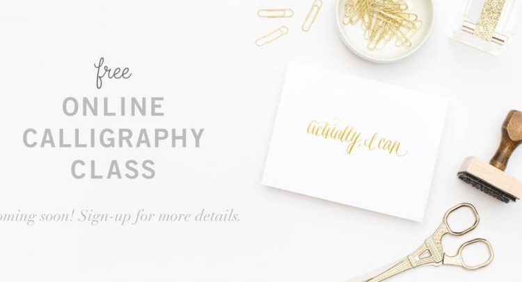 Scarlet & Gold | Online Calligraphy