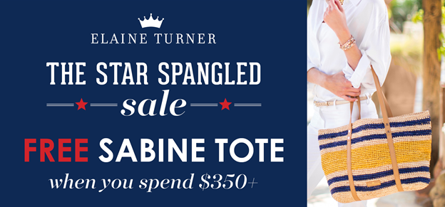 Elaine Turner, Star Spangled Sale
