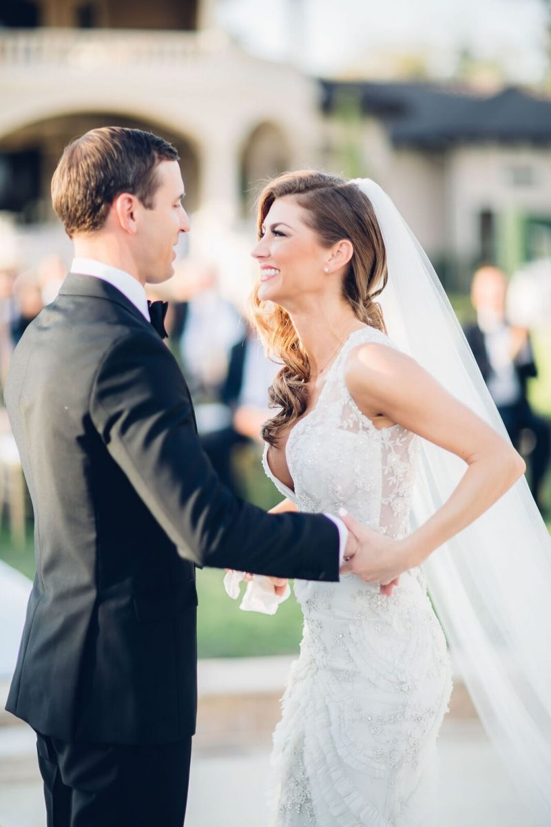 AshLee Frazier and Aaron Williams wedding photo of the ceremony