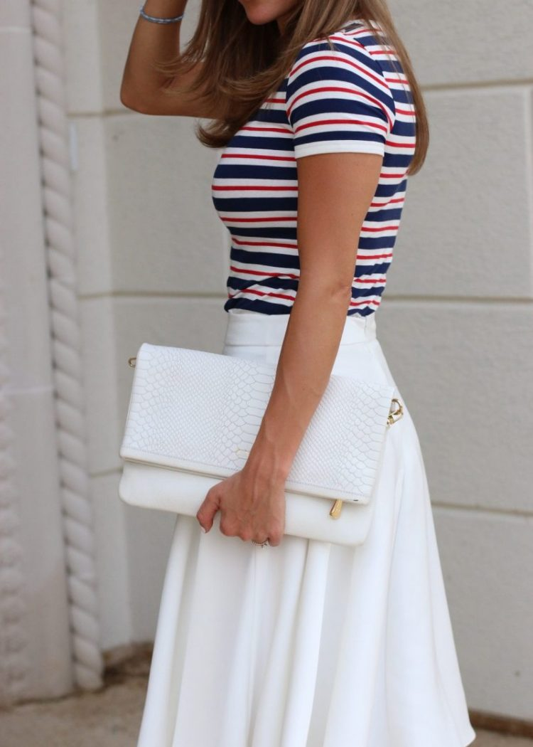 red white and blue, stripes, happiness, smile, pray, blog relaunch