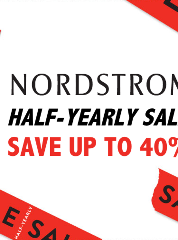 Coming In Hot: Nordstrom Half Yearly Sale
