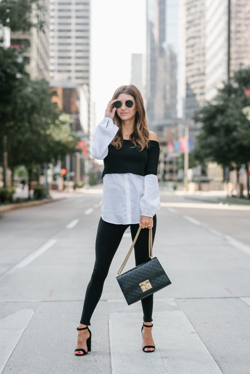 Ready to hit the work day in a faux layered look