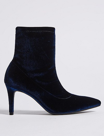 Tight ankle booties from Mark and Spencer