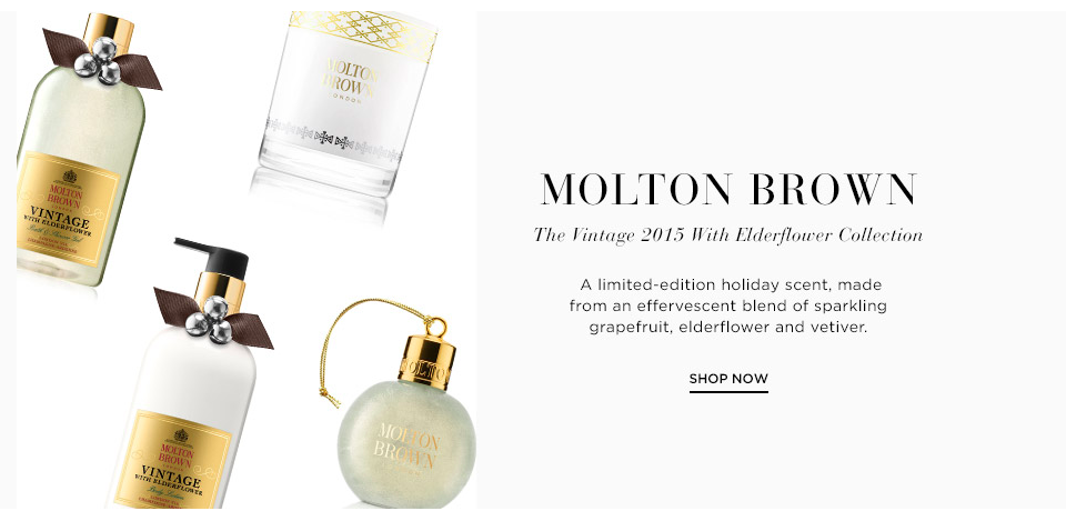 Saks Molton Brown Holiday Gift guide