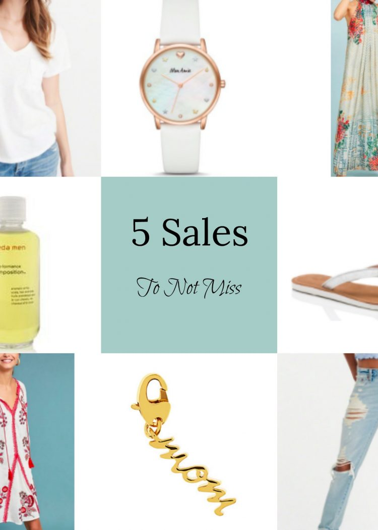 5 Sales To Not Miss