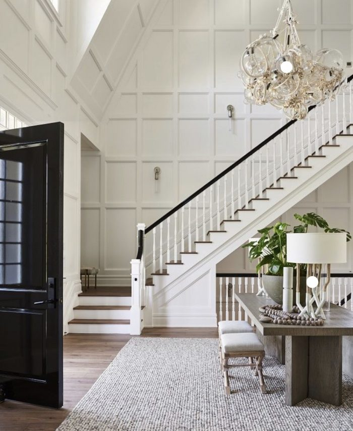AshLee Frazier's inspirational pin for entry way of her dream home