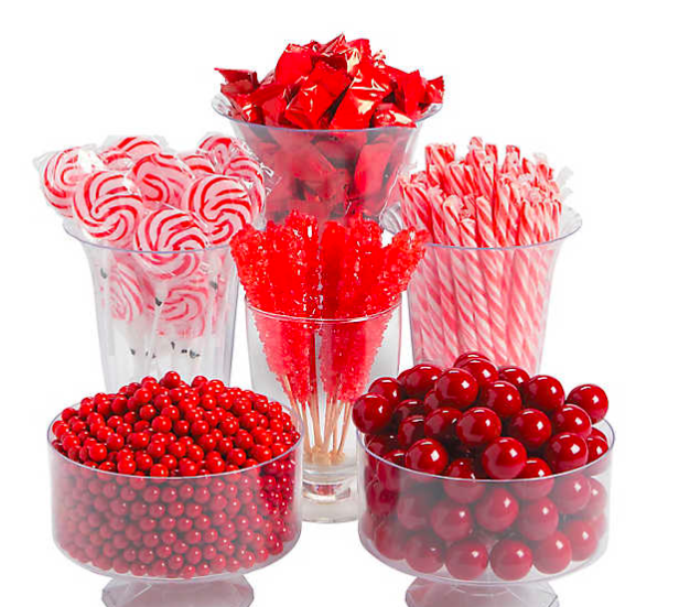 holiday candy red candy