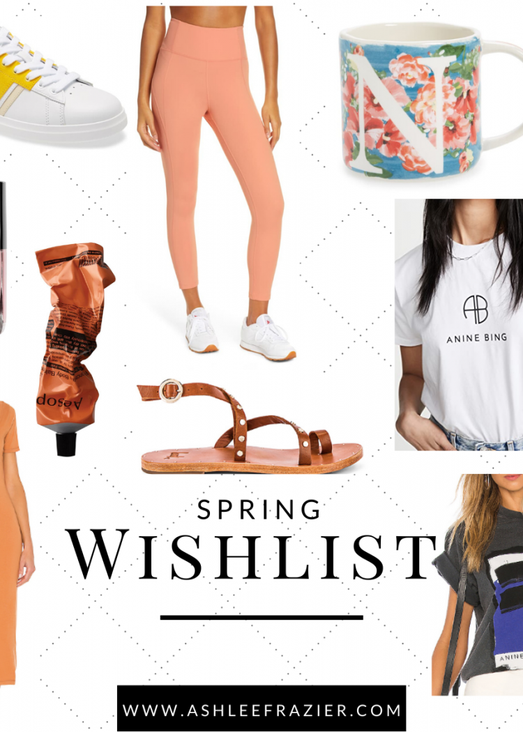 2020 March Spring Wishlist