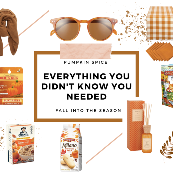 All things pumpkin spice we need in 2020