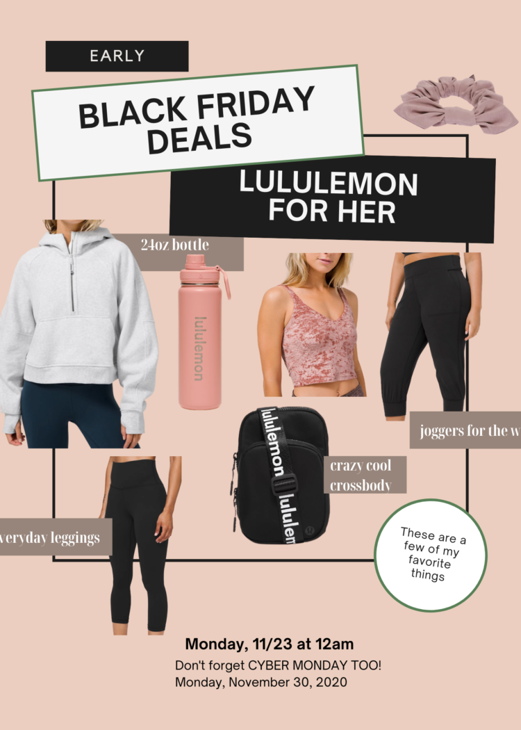 Lululemon Black Friday gift idea for 2020