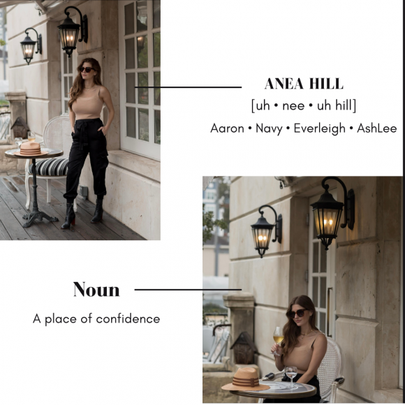 Introducing the brand ANEA HILL by blogger AshLee Frazier
