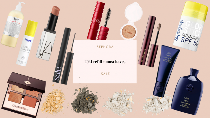2021 Sephora products and refill items that AshLee Frazier uses